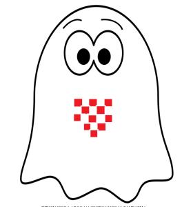 Representación artistica de un fantasma croata.