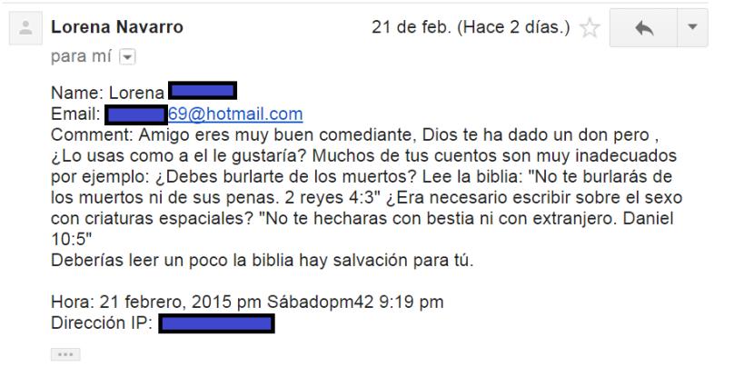 Esta época del internet es muy sencillo saber cuándo citas equivocadamente la biblia.