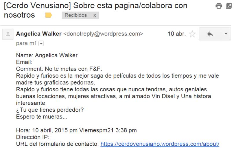¿Víctima de la mercadotecnia post-mortem de Walker? ¿O solo una púber enfadosa?