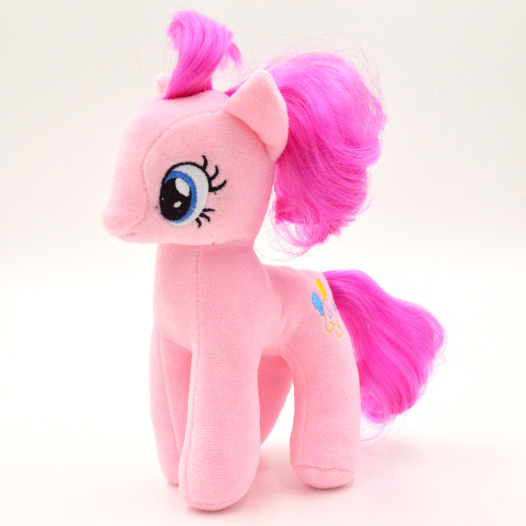 Free-Ship-19cm-High-Quality-Kids-font-b-Pink-b-font-Little-Horse-font-b-Plush